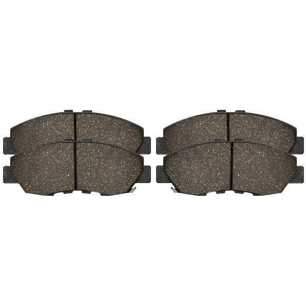 Front Ceramic Brake Pad Set - Part # SCD465