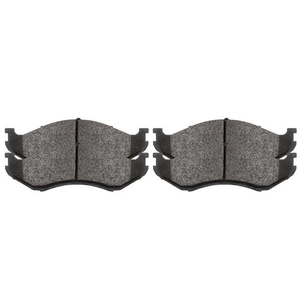 Front Ceramic Brake Pad Set - Part # SCD477