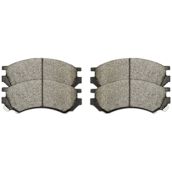 Front and Rear Ceramic Brake Pad Bundle - Part # SCD507-698