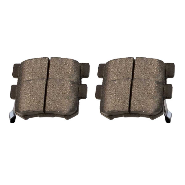 Rear Ceramic Brake Pad Set - Part # SCD536