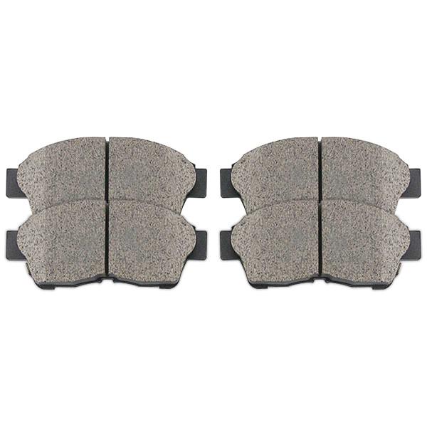 Front Ceramic Brake Pad Set - Part # SCD562