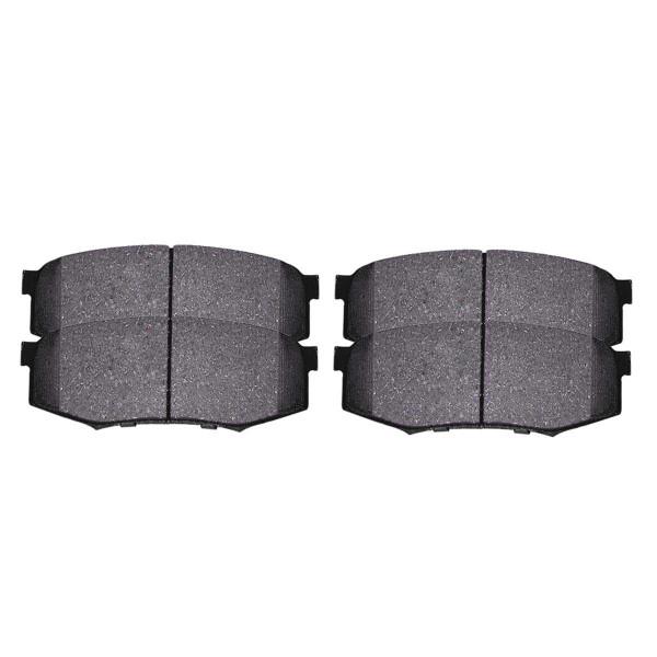 Rear Ceramic Brake Pad Set 4 Wheel Disc - Part # SCD606