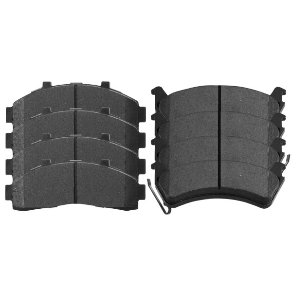 Front and Rear Ceramic Brake Pad Bundle - Part # SCD652-667