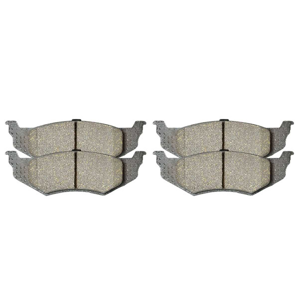 Rear Ceramic Brake Pad Set 4 Wheel Disc - Part # SCD658