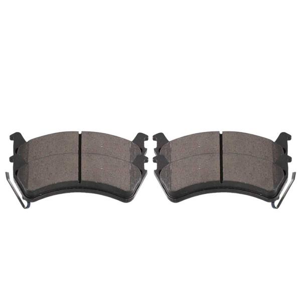 Rear Ceramic Brake Pad Set - Part # SCD667