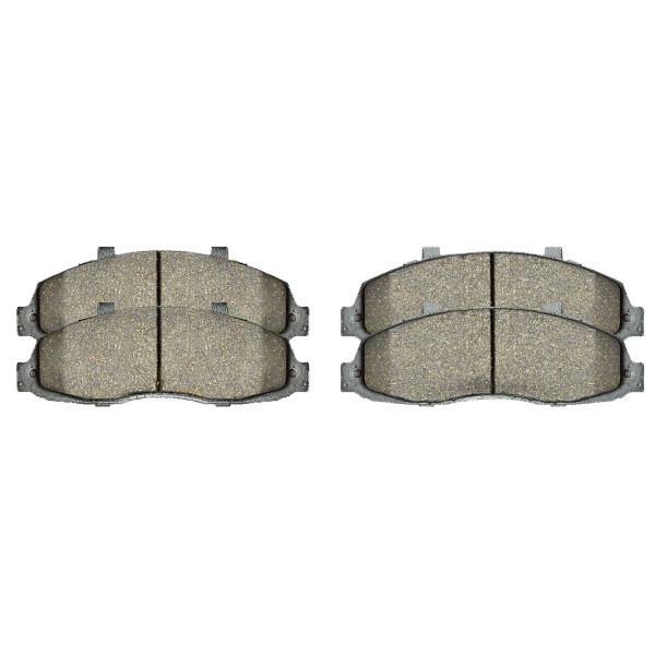 Front Ceramic Brake Pad Set - Part # SCD679