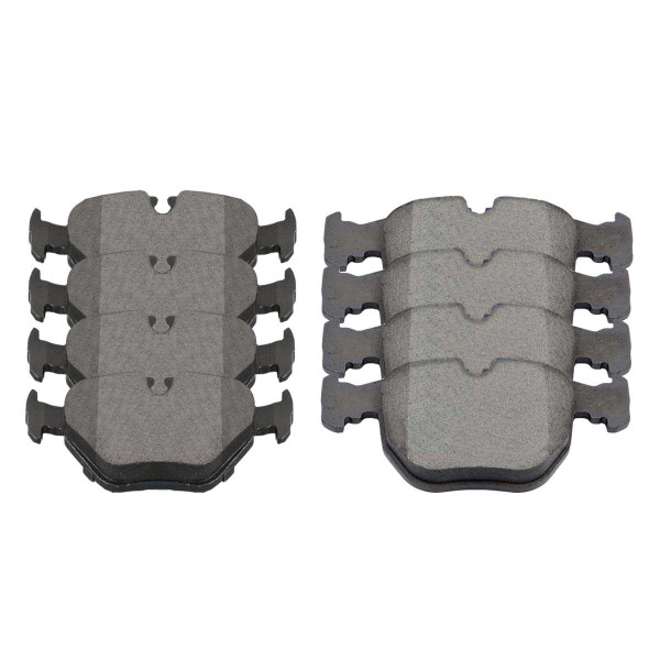 Front and Rear Ceramic Brake Pad Bundle - Part # SCD681-396