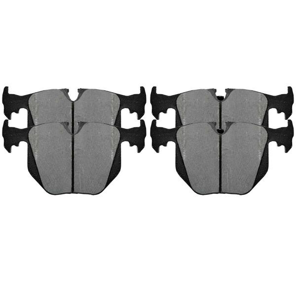 Front and Rear Ceramic Brake Pad Bundle - Part # SCD681-683