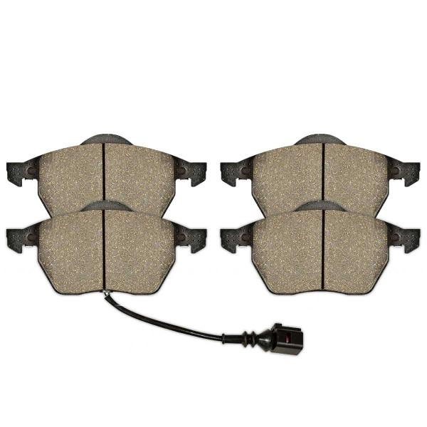 Front Ceramic Brake Pad Set - Part # SCD687A
