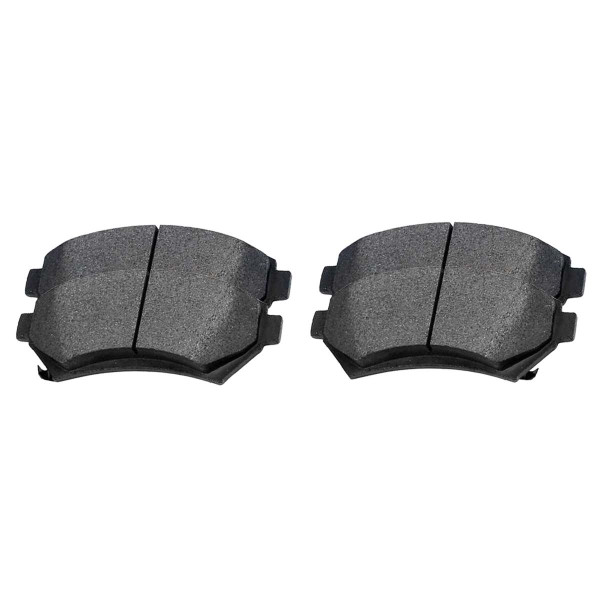 Front Ceramic Brake Pad Set - Part # SCD699