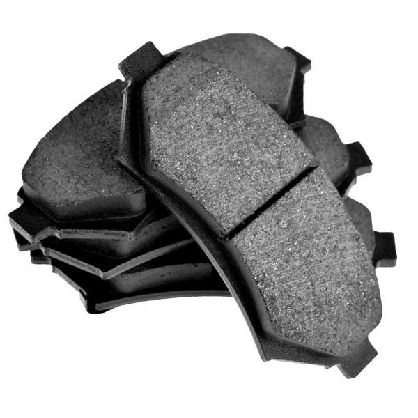 Front Ceramic Brake Pad Set - Part # SCD700