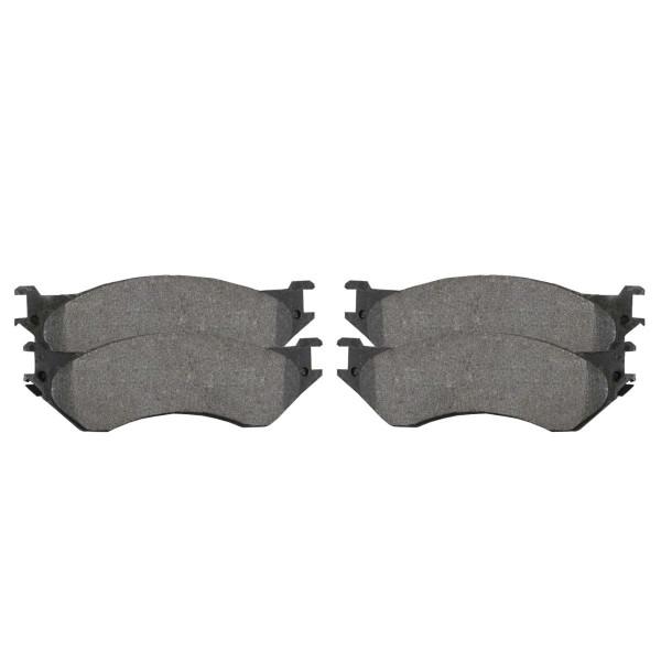 Rear Ceramic Brake Pad Set - Part # SCD702A