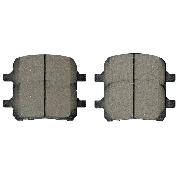 Front Ceramic Brake Pad Set - Part # SCD707