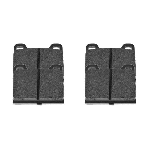 Rear Ceramic Brake Pad Set - Part # SCD709