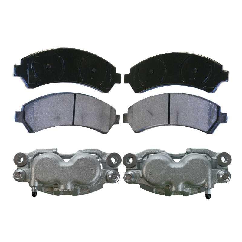 Prime Choice Auto Parts SCD727 Front Ceramic Brake Pad Set