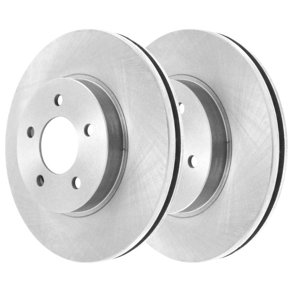 Front and Rear Ceramic Brake Pad and Rotor Bundle 3 3/4 Inch Rotor Height - Part # SCD7265630