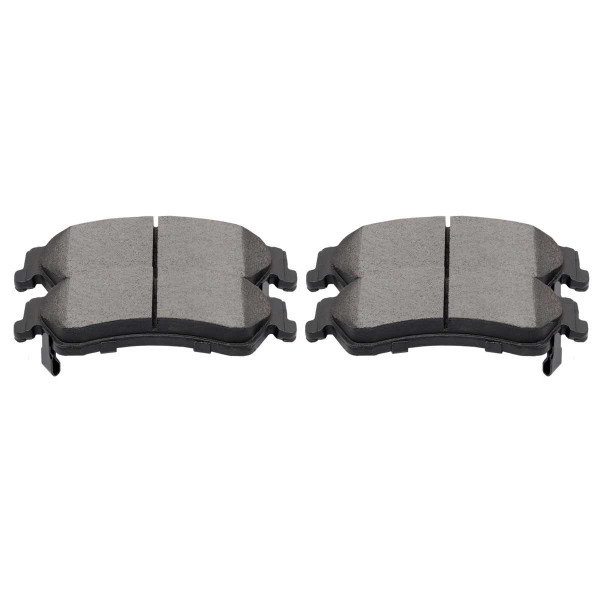 Rear Ceramic Brake Pad Set 4 Wheel Disc - Part # SCD729