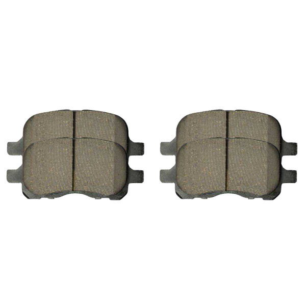 Front Ceramic Brake Pad Set - Part # SCD741