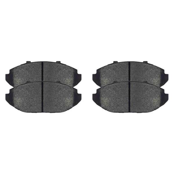 Front Ceramic Brake Pad Set - Part # SCD748