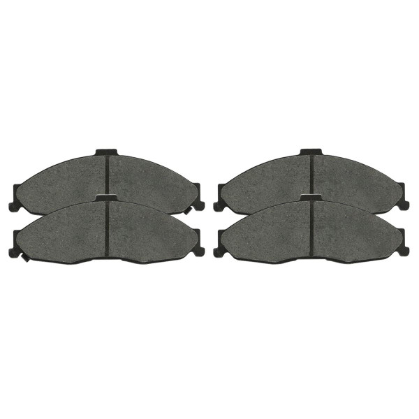 Front and Rear Ceramic Brake Pad Bundle - Part # SCD749-750