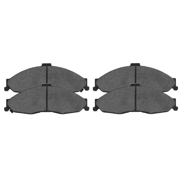Front Ceramic Brake Pad Set - Part # SCD749