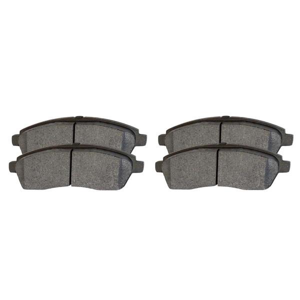Rear Ceramic Brake Pad Set - Part # SCD757
