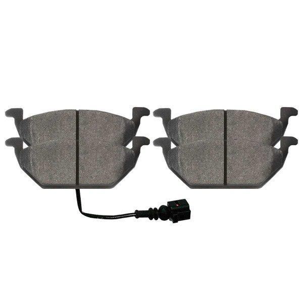 Front Ceramic Brake Pad Set - Part # SCD768A