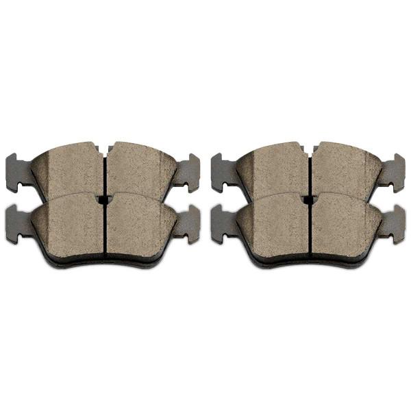 Front Ceramic Brake Pad Set - Part # SCD781