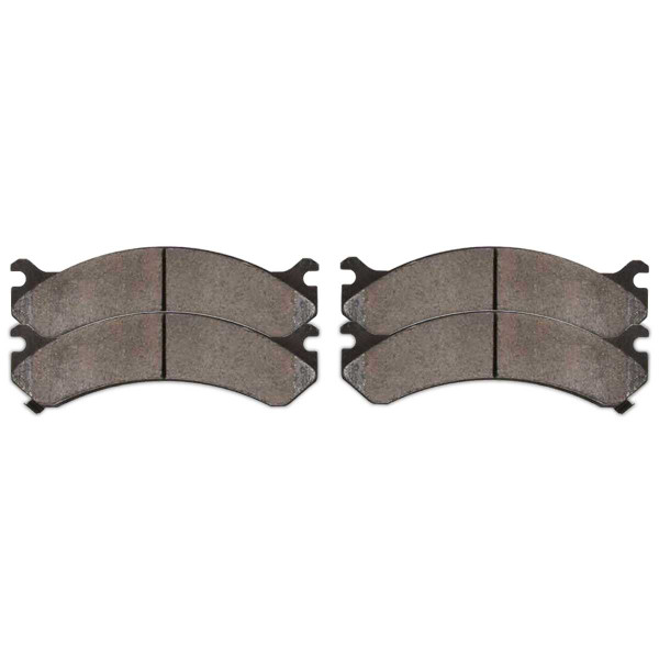 Front Ceramic Brake Pad Set - Part # SCD784