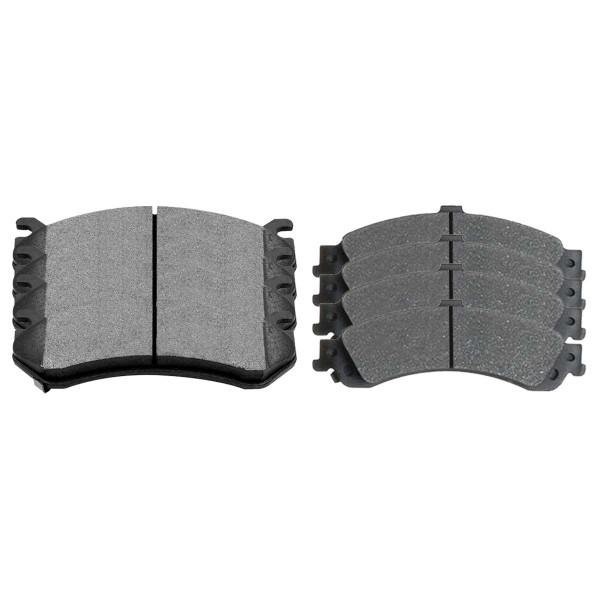 Front and Rear Ceramic Brake Pad Bundle 4 Wheel Disc - Part # SCD785-834