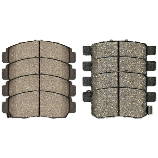 Front and Rear Ceramic Brake Pad Bundle - Part # SCD787-1336
