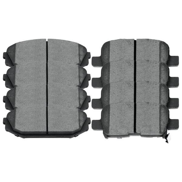 Front and Rear Ceramic Brake Pad Bundle - Part # SCD793-865