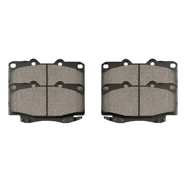 Front Ceramic Brake Pad Set - Part # SCD799