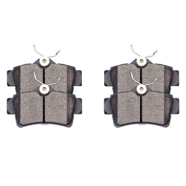 Front and Rear Ceramic Brake Pad Bundle - Part # SCD804-627