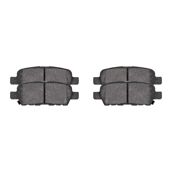 Front and Rear Ceramic Brake Pad Bundle - Part # SCD815-905