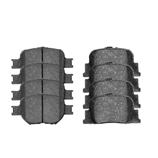 Front and Rear Ceramic Brake Pad Bundle - Part # SCD817-835