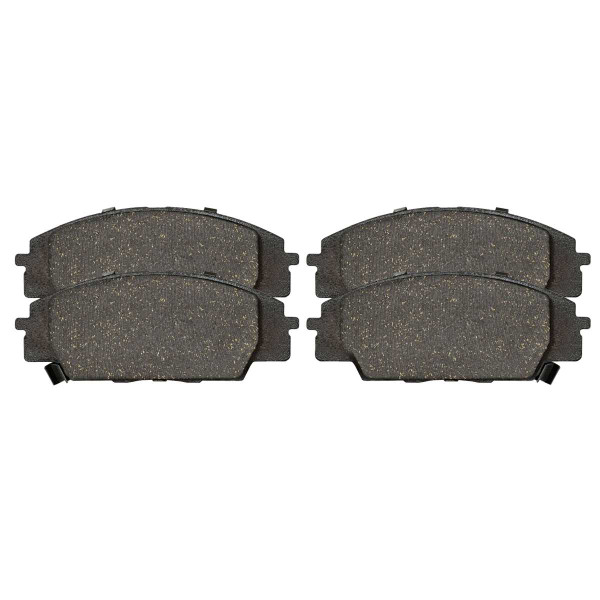Front Ceramic Brake Pad Set - Part # SCD829