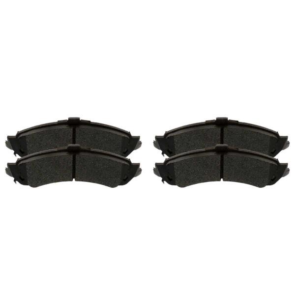 Rear Ceramic Brake Pad Set 4 Wheel Disc - Part # SCD834