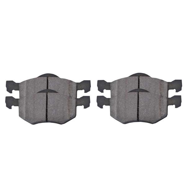Front Ceramic Brake Pad Set - Part # SCD843