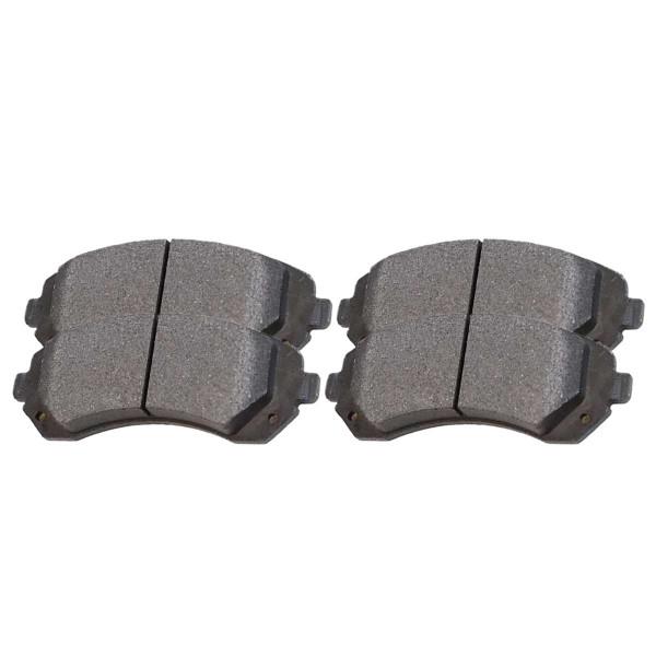 Front Ceramic Brake Pad Set - Part # SCD844