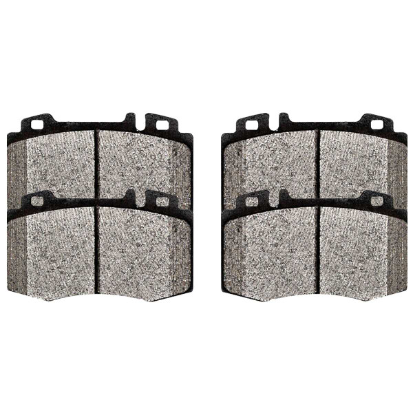 Front Ceramic Brake Pad Set - Part # SCD847