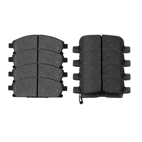 Front and Rear Ceramic Brake Pad Bundle - Part # SCD855-865