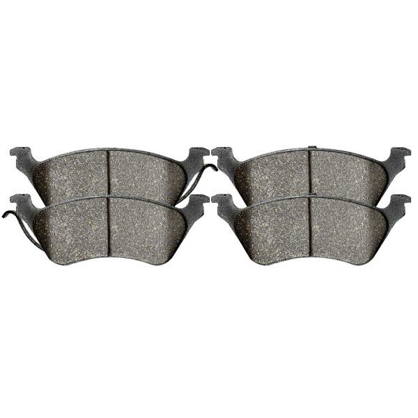 Rear Ceramic Brake Pad Set 4 Wheel Disc - Part # SCD858