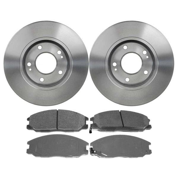 [Front Set] 2 Brake Rotors & 1 Set Ceramic Brake Pads - Part # SCD864-R41352