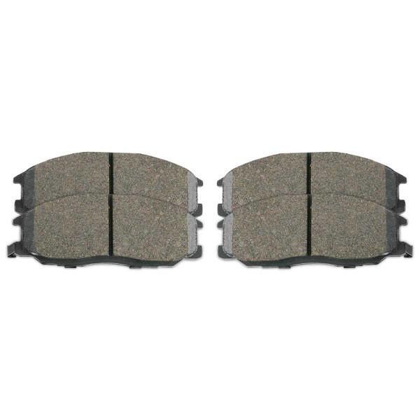 Front Ceramic Brake Pad Set - Part # SCD864