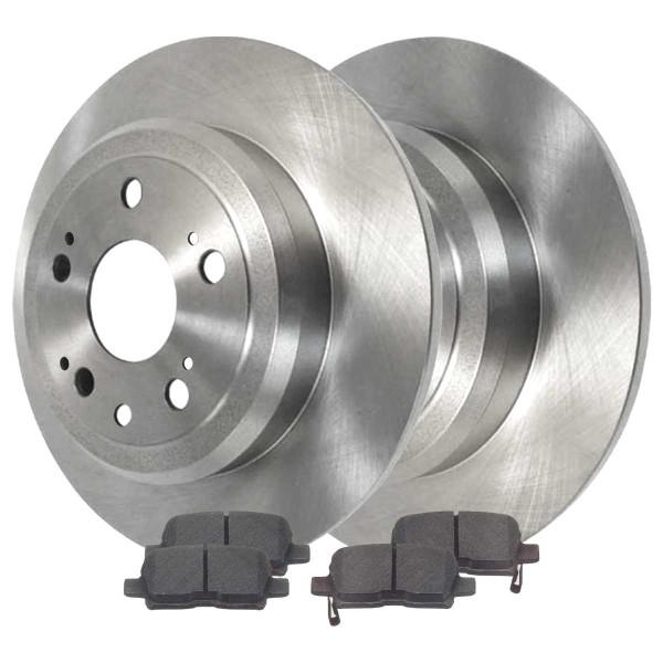 Rear Ceramic Brake Pad and Rotor Bundle - Part # SCD865-R41320