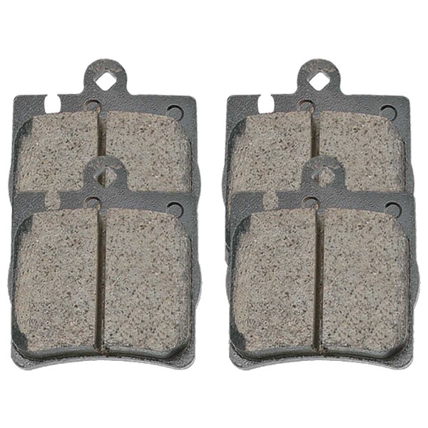 Rear Ceramic Brake Pad Set - Part # SCD873
