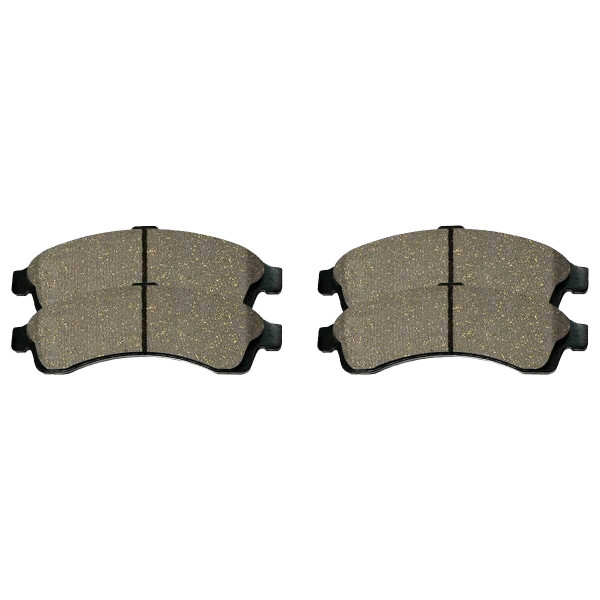 Front and Rear Ceramic Brake Pad Bundle - Part # SCD882-883