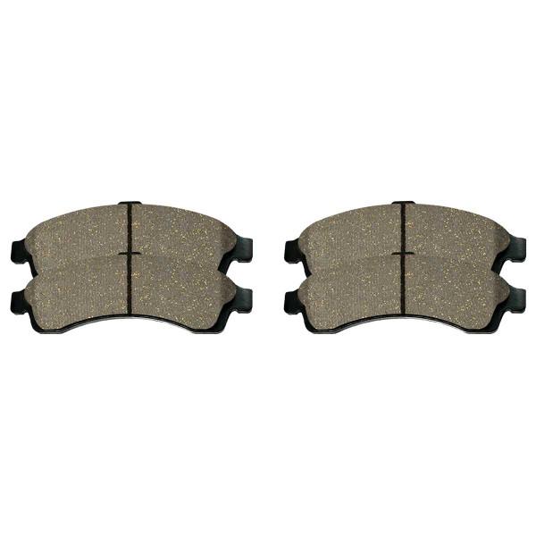 Front Ceramic Brake Pad Set - Part # SCD882