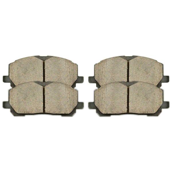 Ceramic Brake Pads - Part # SCD884